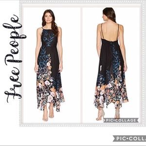 NWT Free People Embrace It Floral Maxi Dress